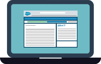 ZINKT is a Salesforce App